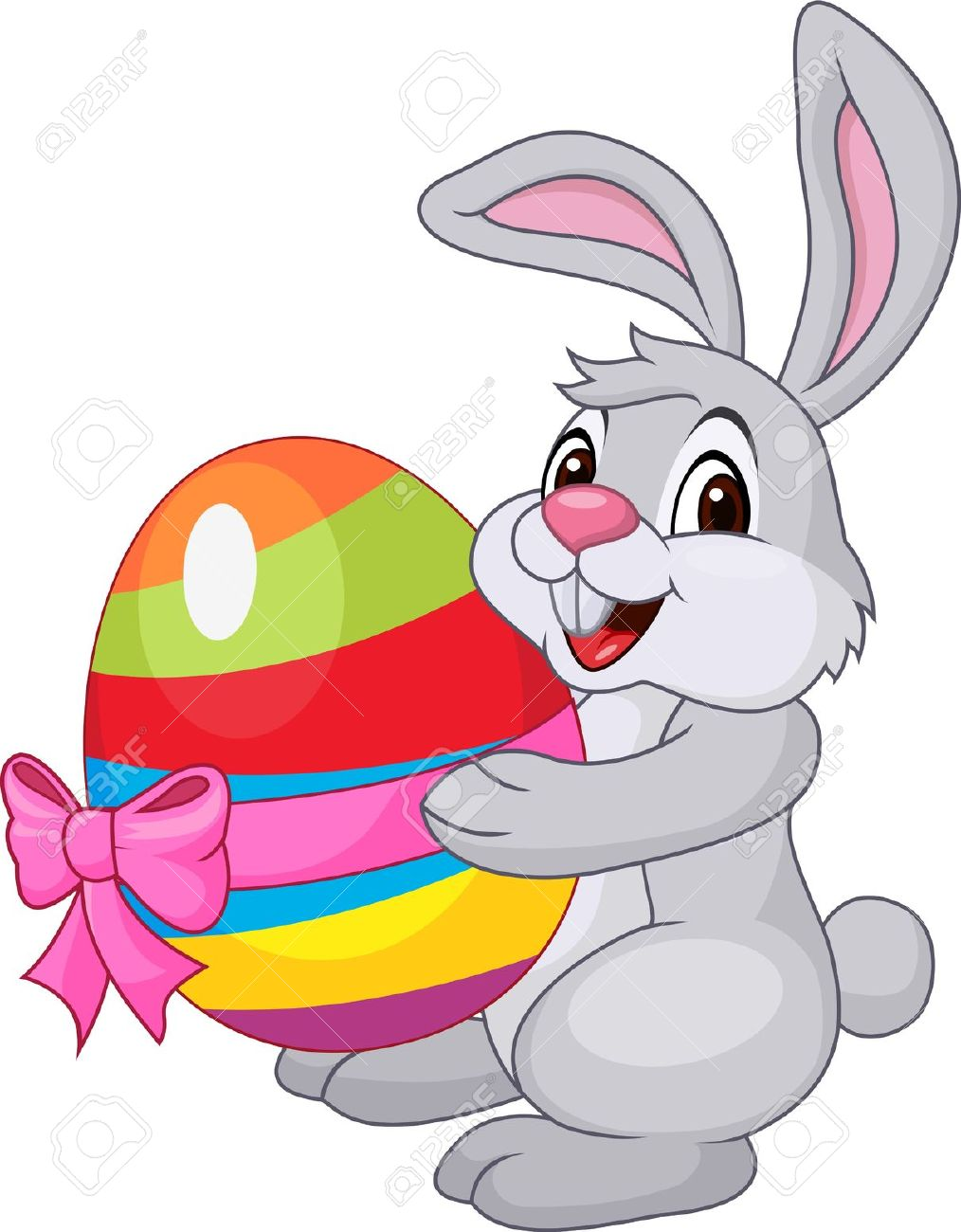 1014x1300 Clipart Easter Bunny Exercising Image