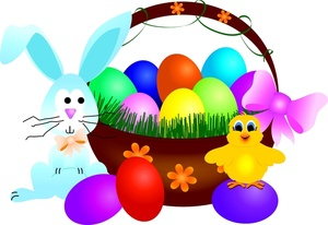 300x206 Easter Clipart Image