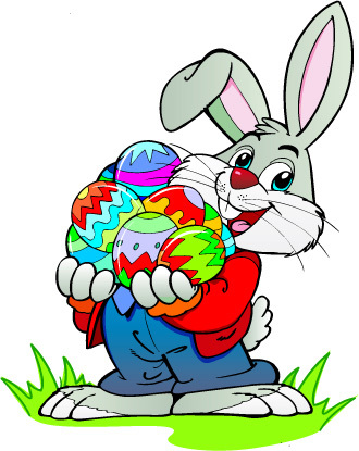 Slikovni rezultat za easter bunny eggs clipart