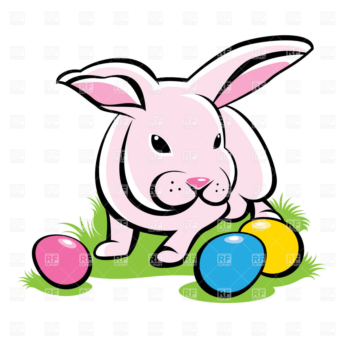 1200x1200 Easter Clipart Panda