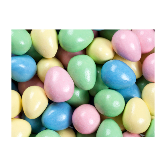 580x580 Hershey's Candy Coated Milk Chocolate Eggs 55 Piece Bag