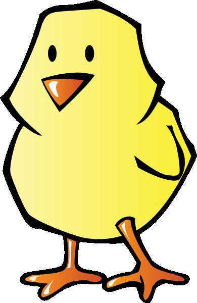 390x600 Chick Clip Art