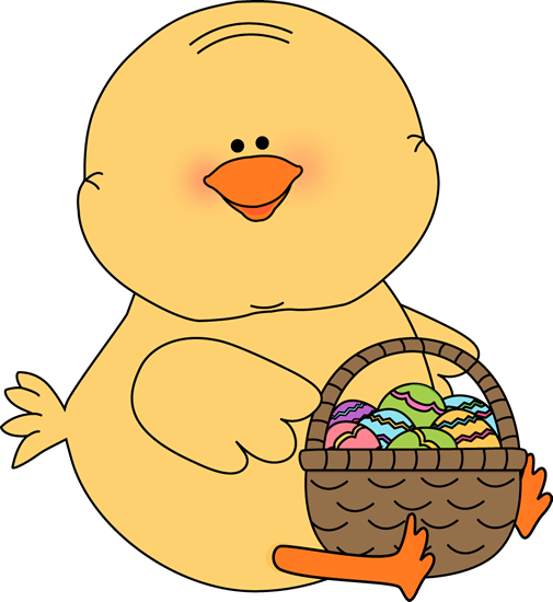 505x550 Easter Chick Clip Art