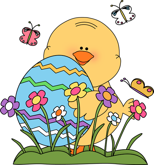 511x550 Spring Easter Chick Clip Art