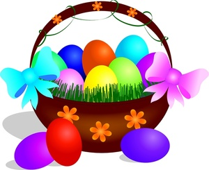 300x245 Free Easter Basket Clipart Image 0515 1003 2901 5943 Computer