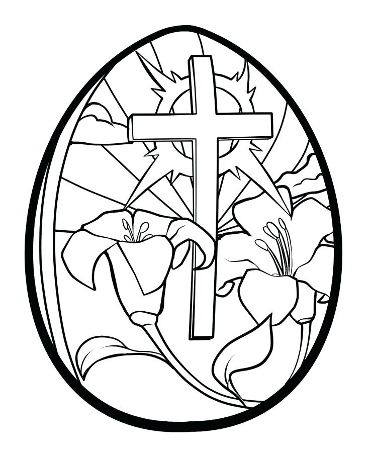 736x911 Easter Clipart Religious Black And White Picture Easter Clip Art