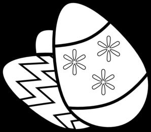 298x261 Easter Eggs Clip Art