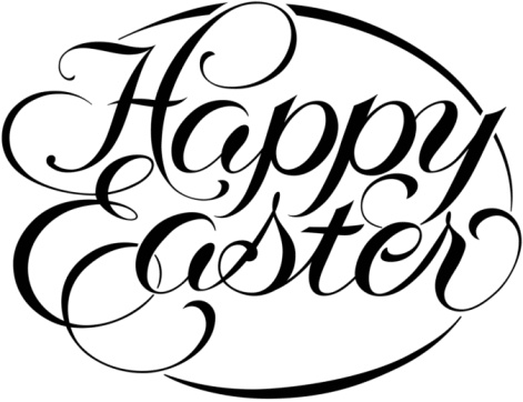 471x362 Christian Easter Black And White Clipart
