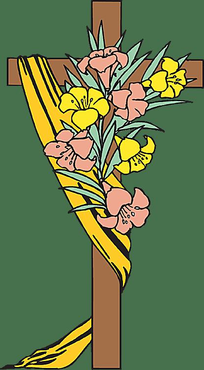 415x750 Easter Religious Clip Art