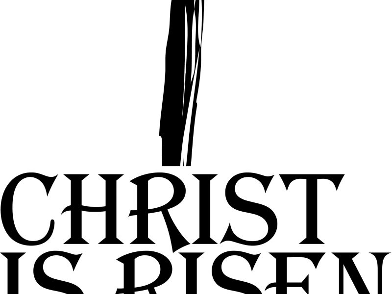 800x600 Shining Easter Religious Clip Art Christian Clipart Black