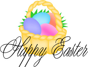 300x229 Sign Clipart Happy Easter