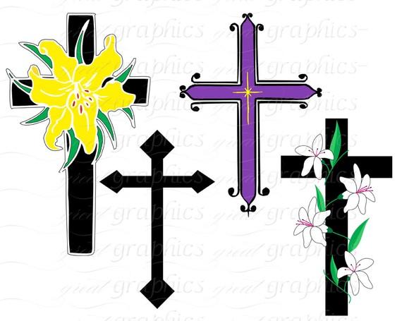 570x455 Cross Clip Art Cross Digital Clip Art Clipart Cross Easter