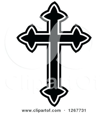 450x470 Crosses Clipart Pin Religious Cross 4 Easter Lily Cross Clip Art