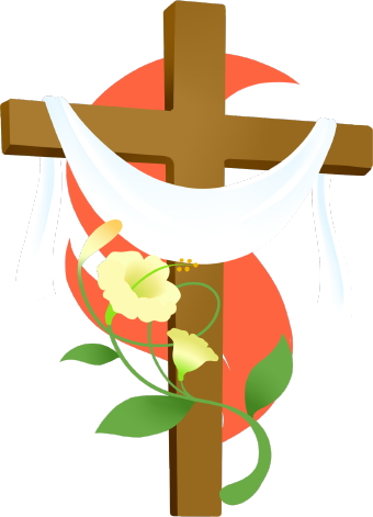 340x471 Easter Cross Clipart