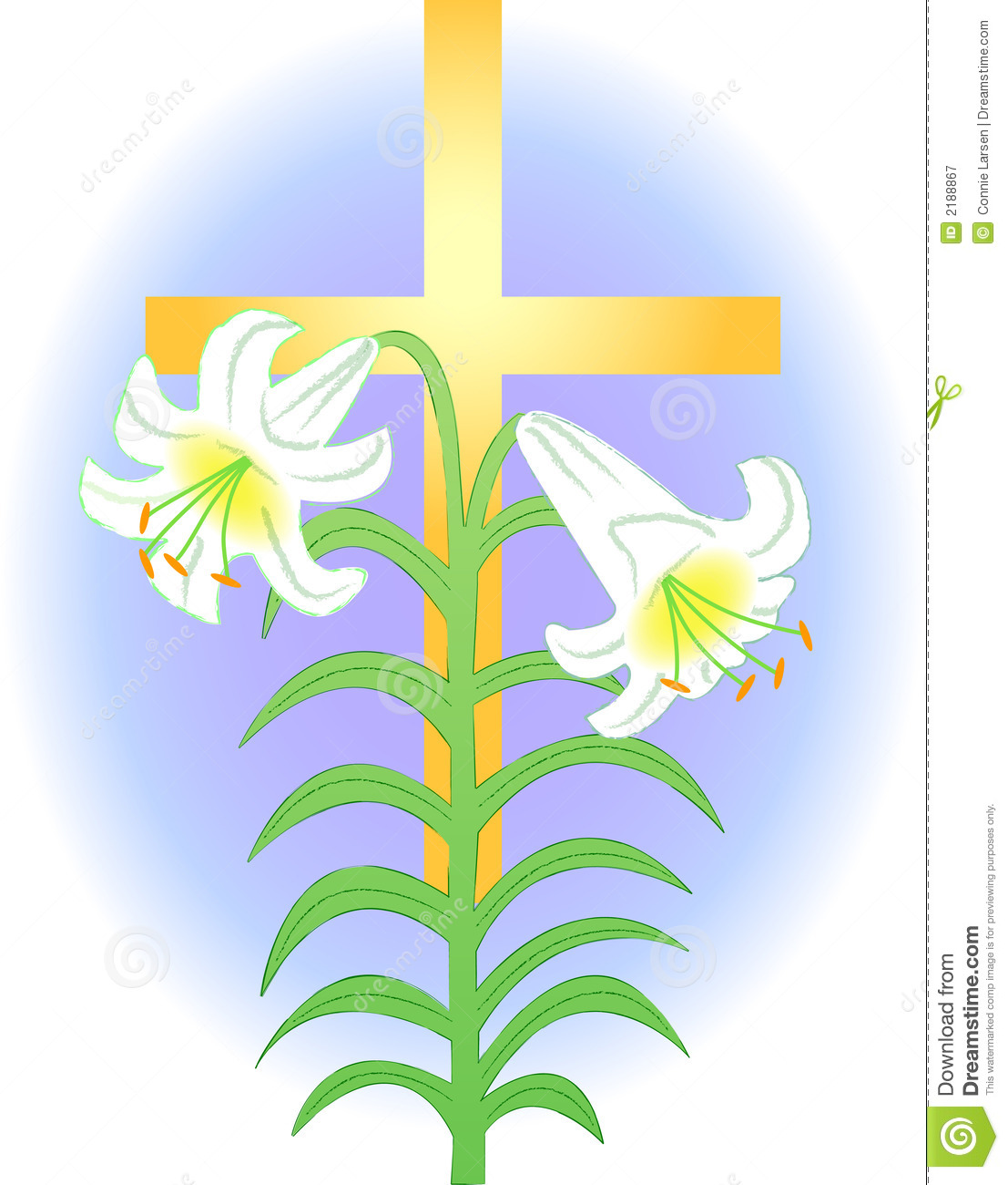 1107x1300 Lily Clipart Pretty Cross