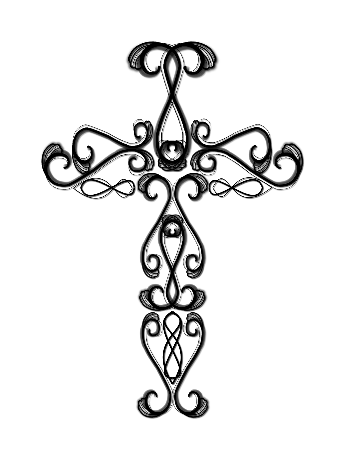 1194x1600 Spectacular Drawings Of Crosses Clip Art With Cross Coloring Pages