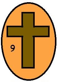 187x262 Easter Egg Cross Clipart