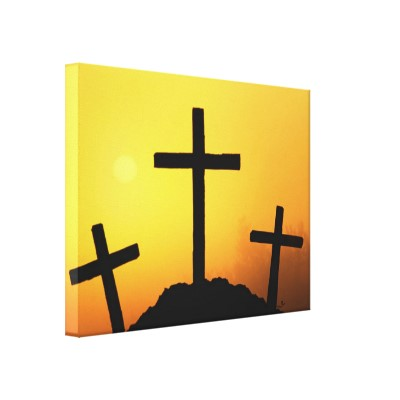 400x400 Paint An Easter Cross Sunrise Silhouette For A Canvas Painting