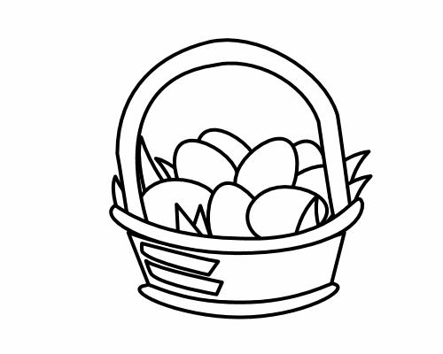 500x400 Egg Clipart One White