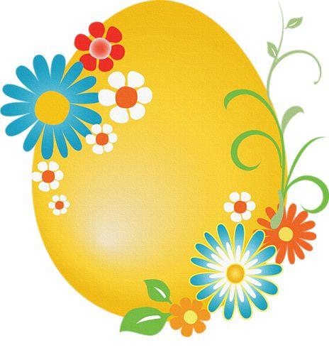 Easter Egg Border Clipart