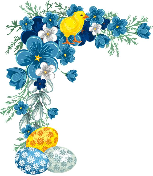 Easter Egg Border Clipart | Free download on ClipArtMag