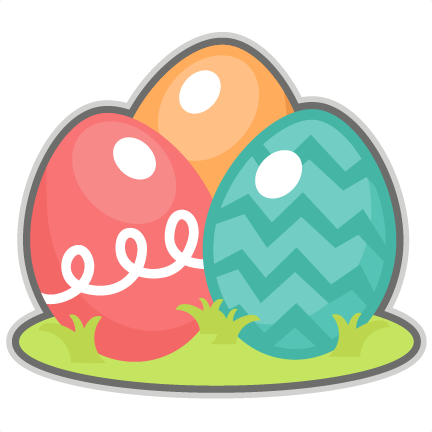 432x432 Easter Eggs Scrapbook Cuts Svg Cutting Files Doodle Cut Files