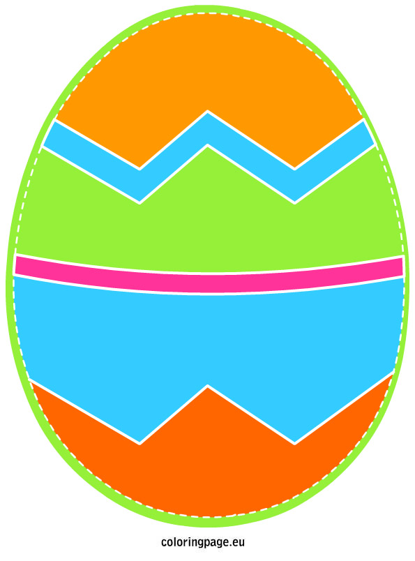 595x804 Easter Egg Clip Art Loring Page