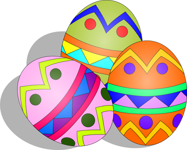 373x300 Free Easter Egg Clipart