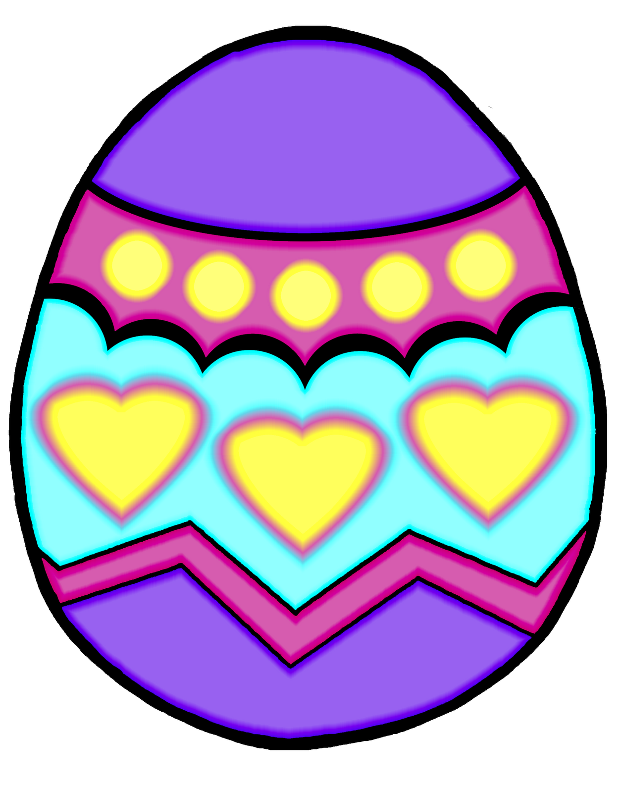 1252x1600 Easter Egg Clipart Free Clipart Images 10