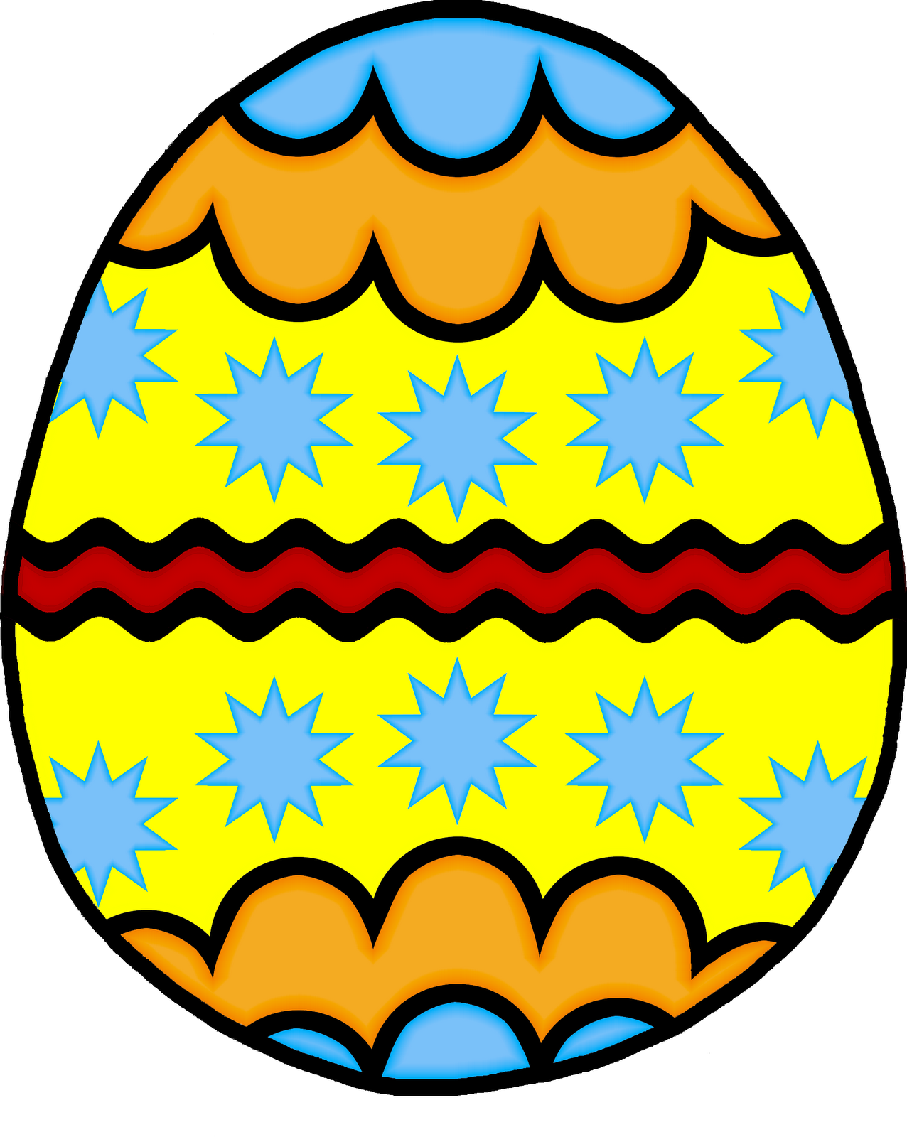 1276x1600 Easter Egg Clipart Free Clipart Images 13