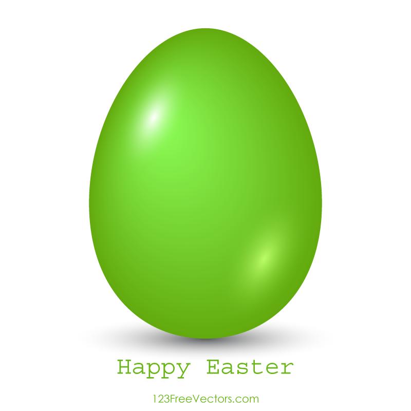 800x800 Green Easter Egg Clip Art Image 123freevectors
