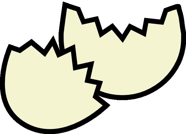 600x431 Broken Easter Egg Clip Art