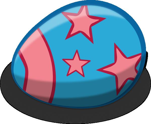 600x494 Blue Easter Egg Clip Art