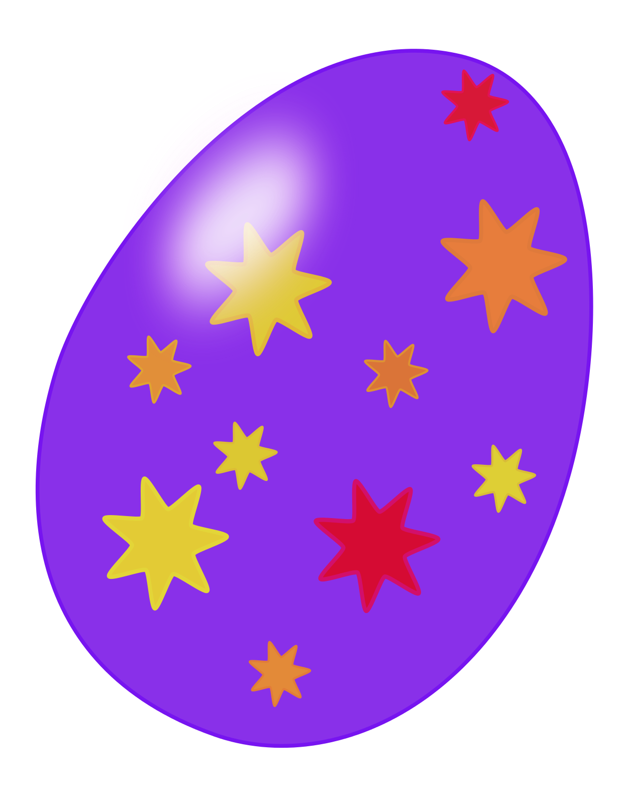 1240x1594 Easter Egg Free To Use Clip Art 2