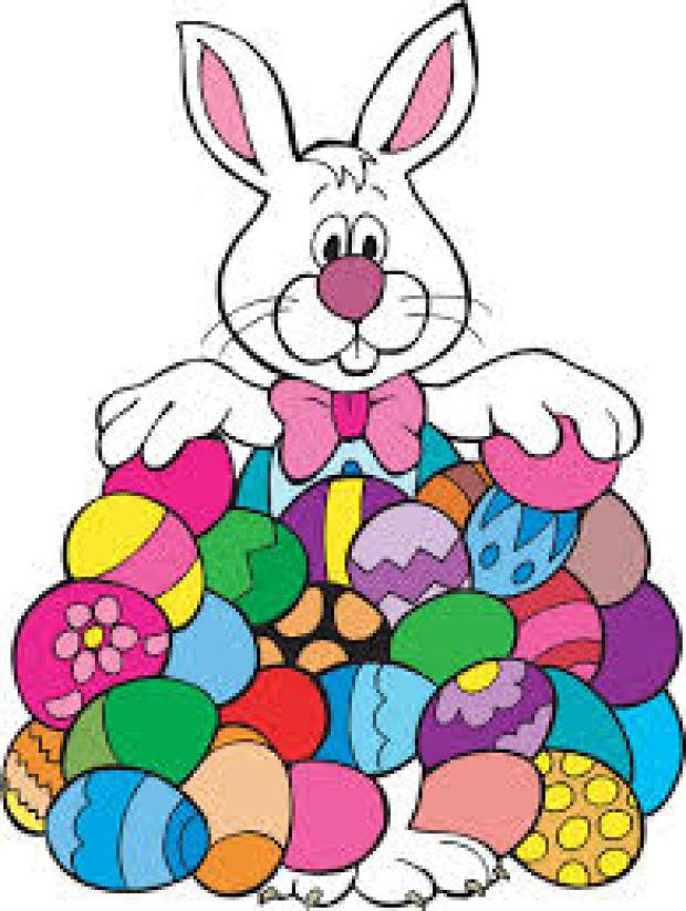 620x823 Clipart Easter Egg Hunt
