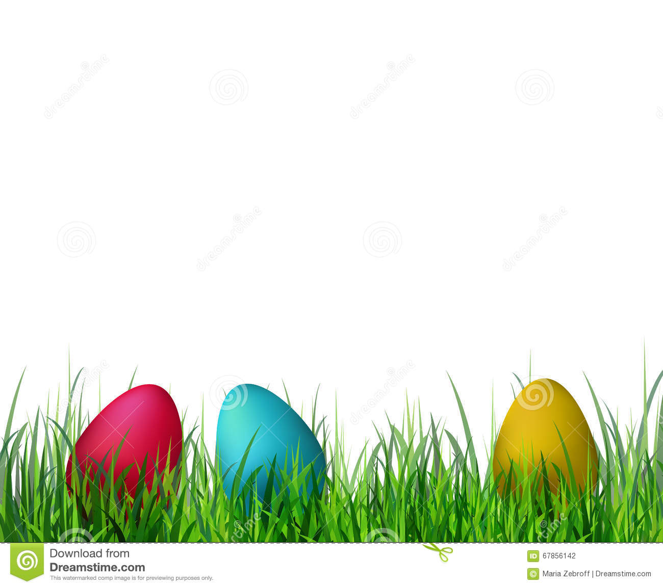 easter eggs in grass clipart | free download best easter eggs in