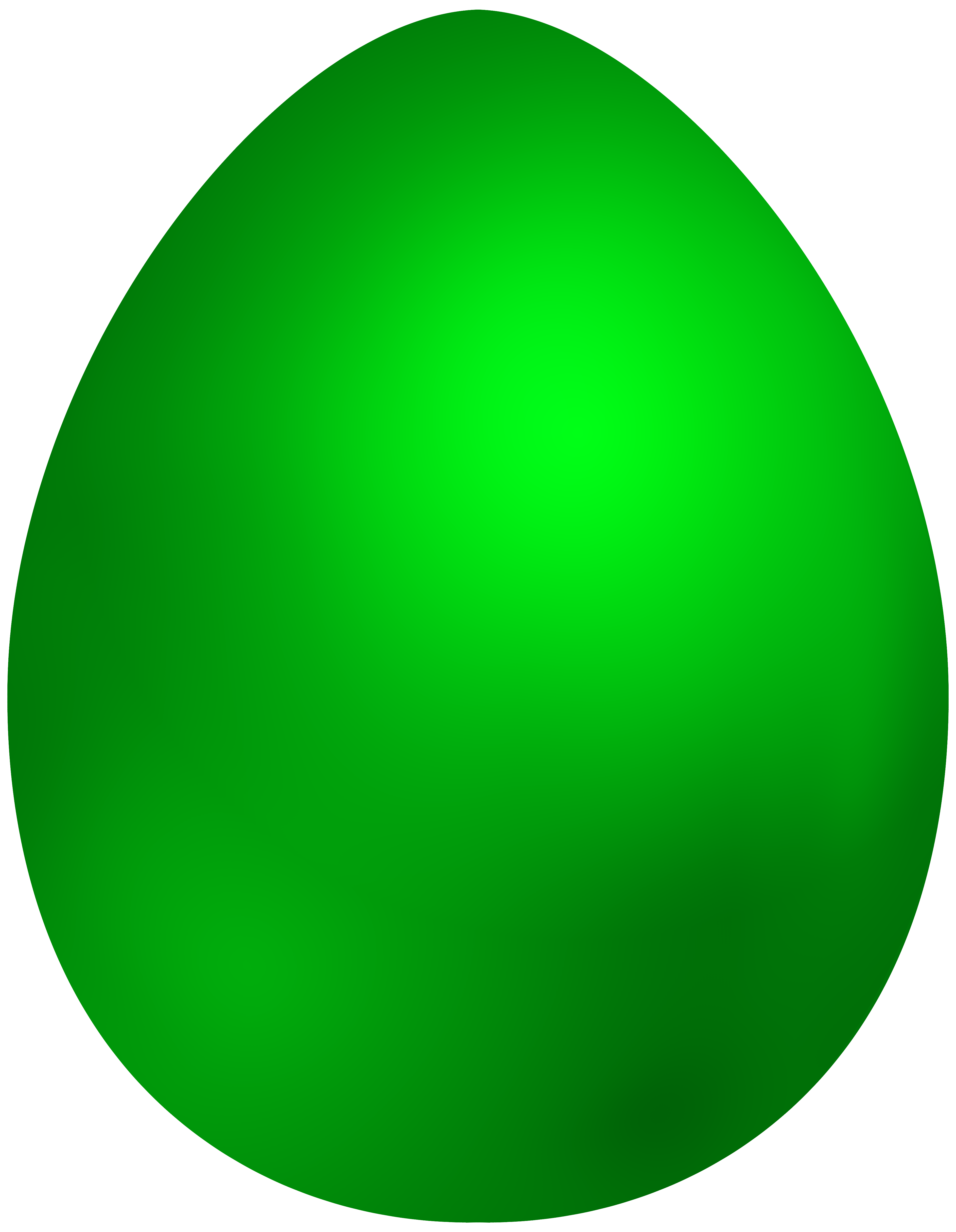 3879x5000 Green Easter Egg Png Clip Art
