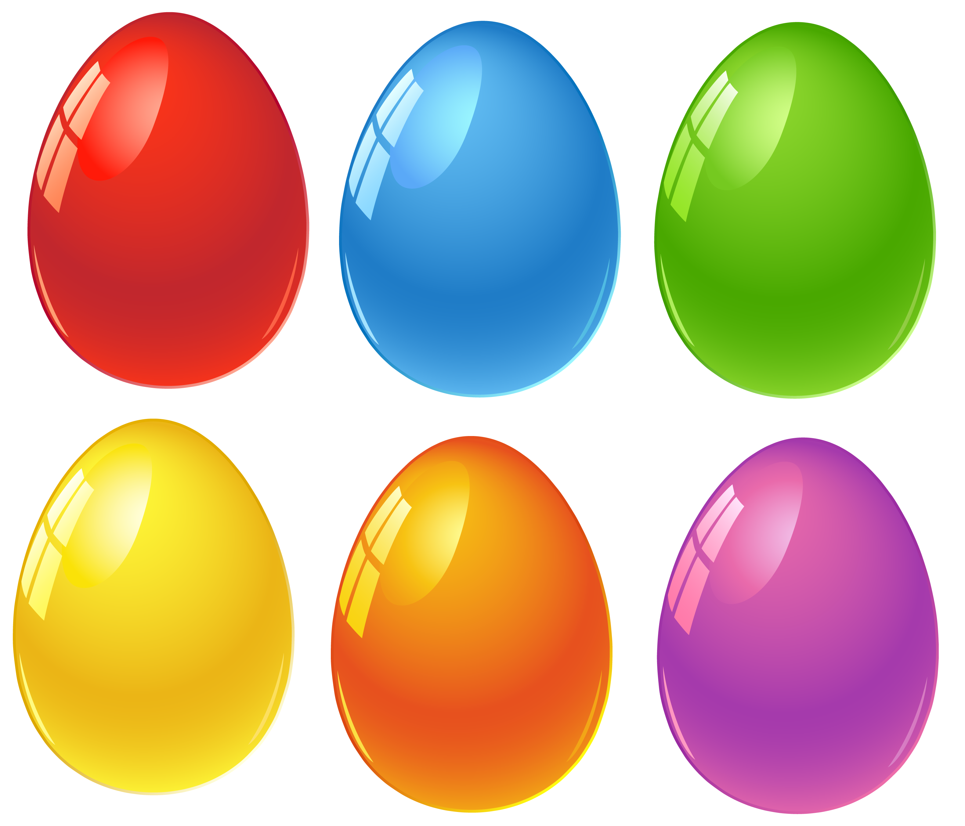 3162x2707 Colored Easter Eggs Png Clipart Velikonoce Easter