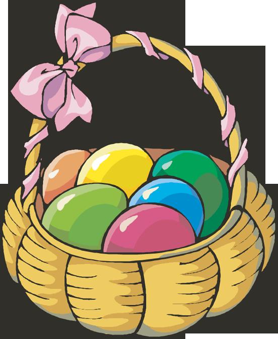 552x675 Gift Basket Easter Basket Clip Art 2