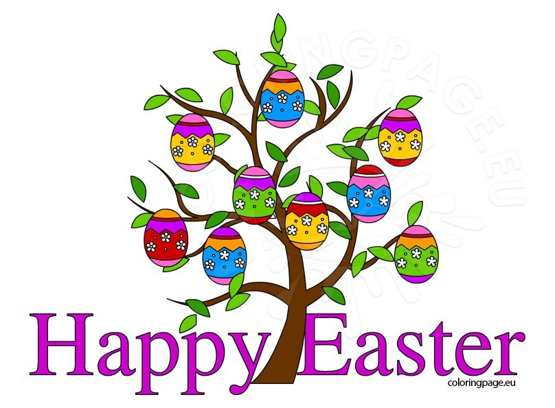 808x595 Happy Easter Clipart