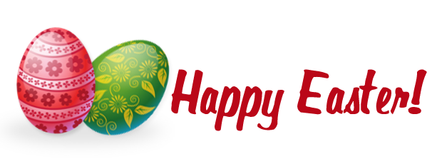 613x230 Happy Easter Clipart Clipart Image