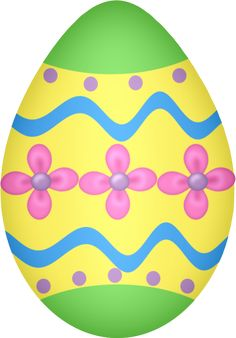 236x338 Painted Easter Eggs Clip Art