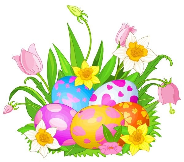 600x527 99 } Happy Easter 2017 Clipart Images Free Download