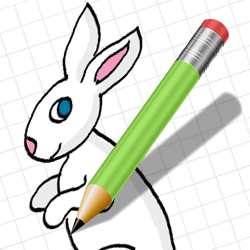 250x250 Free Bunny Clipart And Rabbit Drawing Tutorial