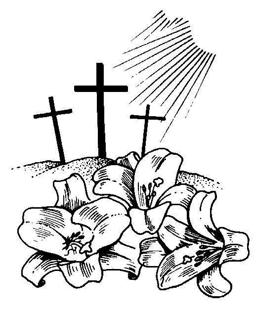 Easter Religious Clipart