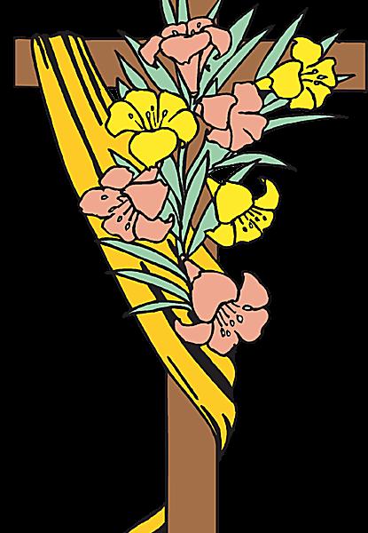 415x600 Easter Religious Clip Art