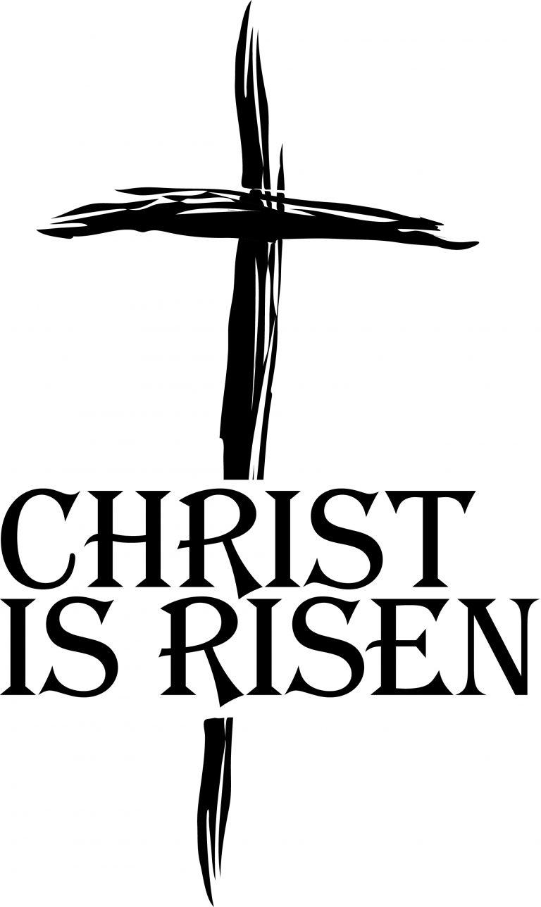 768x1288 Shining Easter Religious Clip Art Christian Clipart Black