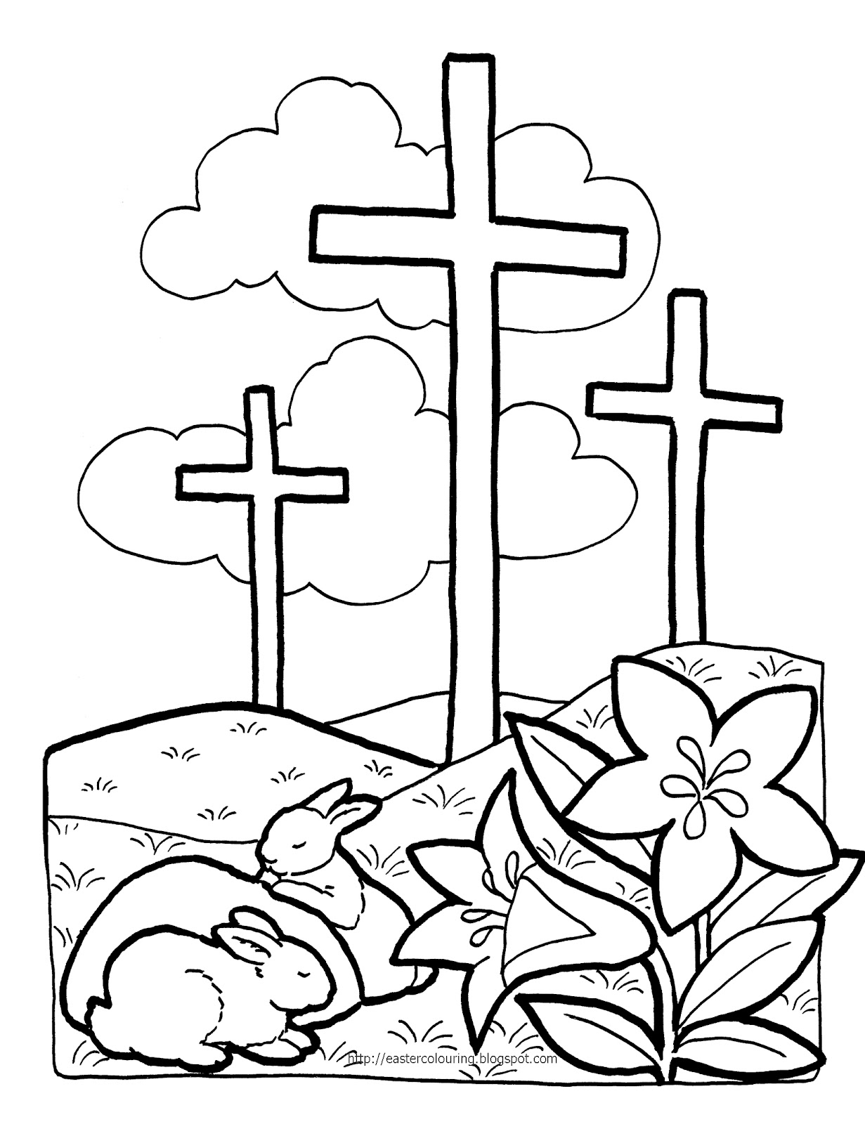 1231x1600 Religious Easter Clip Art Black And White Happy Easter 2017