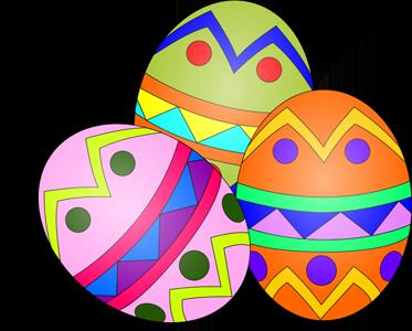373x300 Religious Clipart Easter Egg