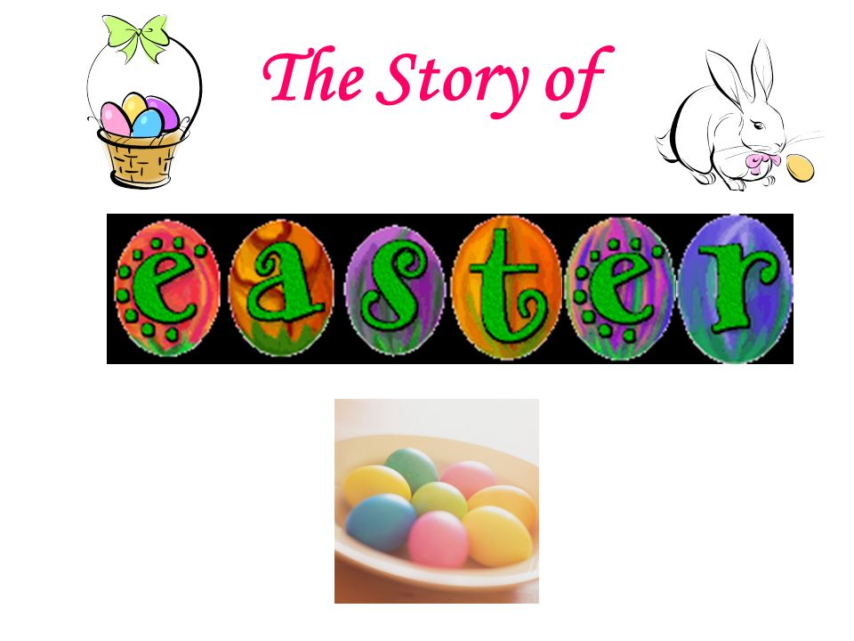 960x720 The Story Of. Easter Is A Time Of Springtime Festivals.
